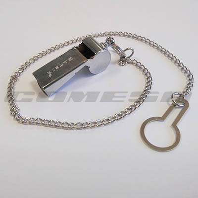 Conjunto silbato cadena